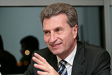 Günther Oettinger en 2007