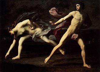 Atalanta - Guido Reni - Atalanta and Hippomenes - WGA19271