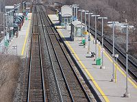 Guildwood GO Station main tracks.JPG