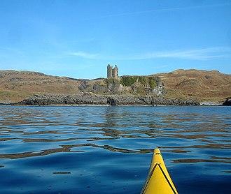 Clan MacDougall - Gylen Castle, a MacDougall property