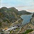 Håndkolorert dias. Zink-raffineriet i Jøssingfjord. (9456210519).jpg