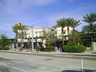 Hillsborough Area Regional Transit - The Marion Transit Center in northern Downtown Tampa is HART's main hub.
