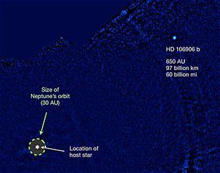 HD 106906 b extrasolar planet
