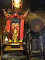 HK Aberdeen 香港仔天后廟 Tin Hau Temple interior metal bell April 2016 DSC.JPG