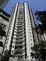 HK Mid-levels 堅道 Caine Road 99 豐樂閣 Albron Court facade Aug-2010.JPG
