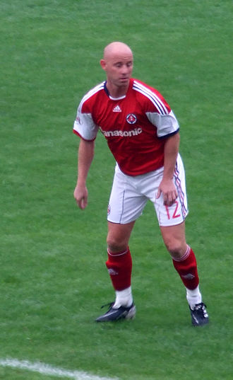 Nicky Butt - Playing for South China against TSW Pegasus in the Hong Kong League Cup final.
