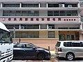 HK SW 上環 Sheung Wan 高陞街 Ko Sing Street 保良局郭羅桂珍護老院 Po Leung Kuk Kwok Law Kwai Chun Home For The Elderly n car parking August 2019 SSG 08.jpg