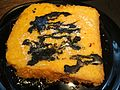 HK Style French Toast in Black Sesame Paste.JPG