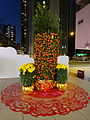 HK evening 沙田第一城 Shatin Fortune City One CNY tree Feb-2016 DSC.JPG