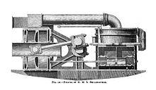 HMS Bellerophon engine