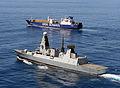 HMS Diamond Escorting Ark Futura During Operation Recsyr MOD 45157603.jpg
