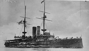 HMS Glory (1899) - Image: HMS Glory LOC ggbain.17135