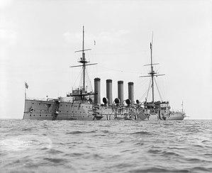 7th Cruiser Squadron (United Kingdom) - HMS Hogue