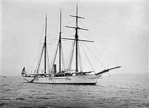 HMS Waterwitch (1892) - Waterwitch on the Australian Station, some time after 1894