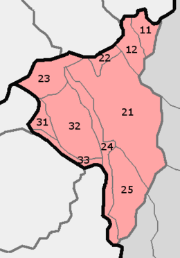 HU mesoregion 1.4. Mezőföld subdivisions numbered.png