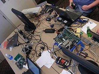 Coreboot - Hacking coreboot at Denver 2008 summit.