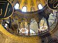 Hagia Sophia 3 Hellenistic mighty stone columns.JPG