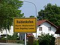 Haidenkofen Markt Wallersdorf Ortsschild.jpg