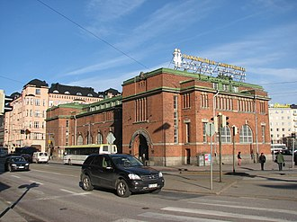Hakaniemi - The Hakaniemi market hall is one of the three most important market halls in Helsinki. The other two are in the Market Square and in Hietalahti.