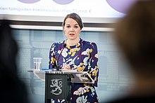 Hallituksen tiedotustilaisuus koronavirustilanteesta 20.3.2020. (49679392027).jpg