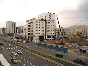 Fujairah - Building construction is a common sight in the Emirate of Fujairah.
