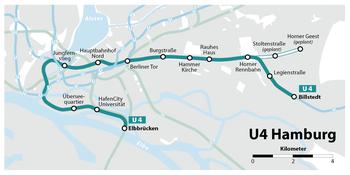 U Bahn Linie 4 Hamburg Wikipedia