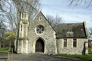 Margravine Cemetery - Cemetery chapel