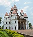 Hanseswari Mandir - South-west View - Bansberia Royal Estate - Hooghly - 2013-05-19 7511-7512.JPG