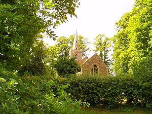 Hardwick, Cambridgeshire - Image: Hardwick St Marys