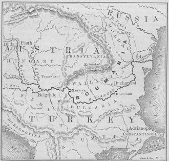Danubian Principalities - The Principalities of the Danube wider concept- Moldavia, Wallachia and Serbia