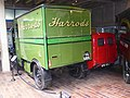 Harrods Electric Van (1939) & Morris 1000 Royal Mail Van (1970) (36199675741).jpg