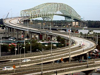 Hart Bridge - Image: Hart Bridge in Jacksonville