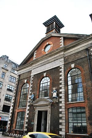 Foundling Hospital - The Foundling Hospital was first located in Hatton Garden