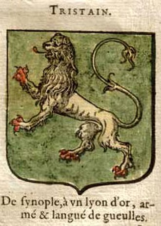 "Tristan - ""Tristain's"" attributed arms"