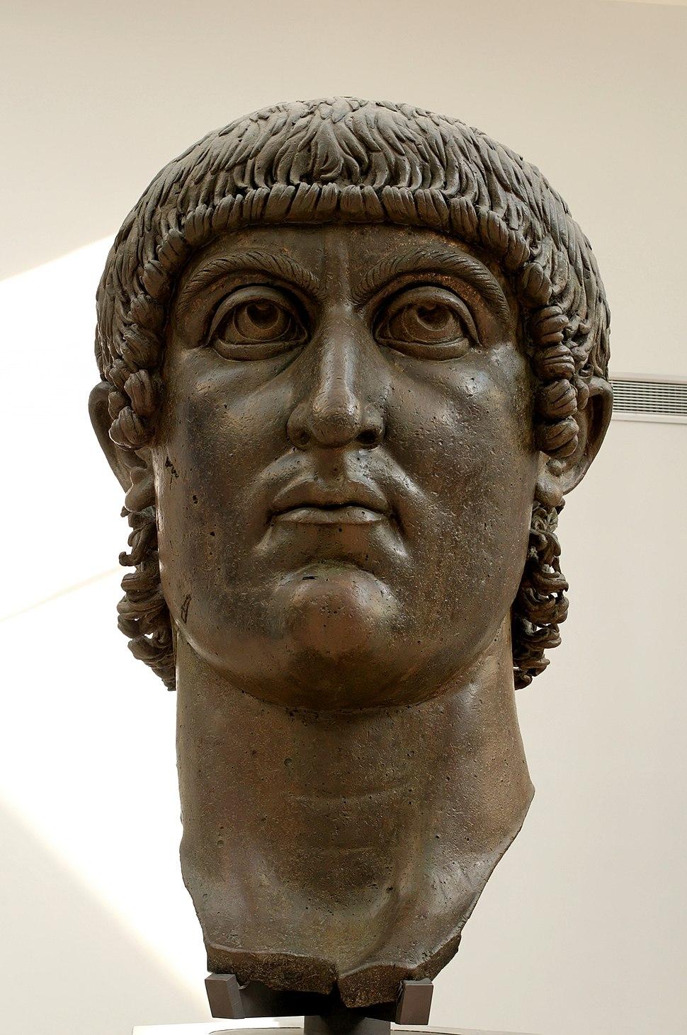 Head Constantine Musei Capitolini MC1072