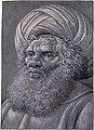 Head of a Bearded Man Wearing a Turban (recto); Latin script (verso) MET DT252794.jpg