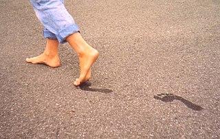 Footprint trace
