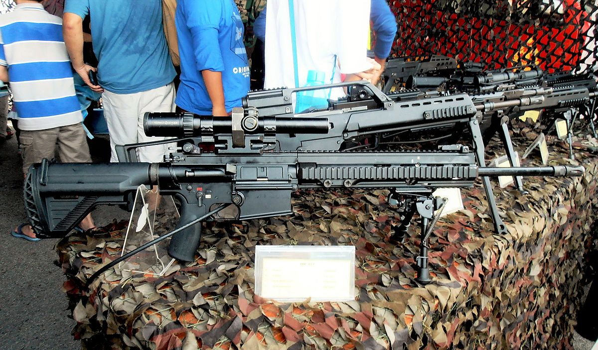 Heckler & Koch HK417 - Wikipedia