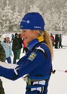Helene Söderlund Swedish ski orienteer