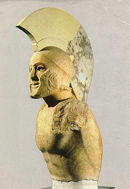 Helmed Hoplite Sparta