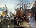 Hendrick Avercamp, giochi invernali a isselmuiden, 1608 ca. 03.JPG