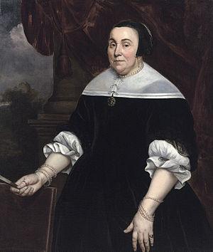 Hendrick Berckman - Image: Hendrick Berckman Portrait of Anna van Gelder (1614 1685)