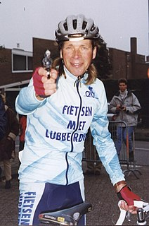 Henk Lubberding Dutch cyclist