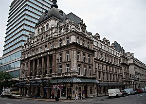 Her Majesty's Theatre - Exterior of Her Majesty's Theatre, 2010
