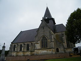 The church in Herleville