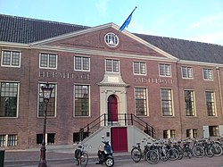 The entrance of the Hermitage Amsterdam