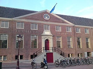 Hermitage Amsterdam - Entrance of the museum