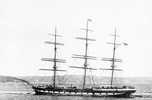 Hesperus (clipper ship) - Clipper Hesperus c. 1885