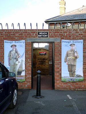 Heugh Battery - Heugh Battery entrance