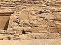 Hieroglyphic Carvings, Temple of Hathor and Nefertari, Abu Simbel, AG, EGY (48016632431).jpg